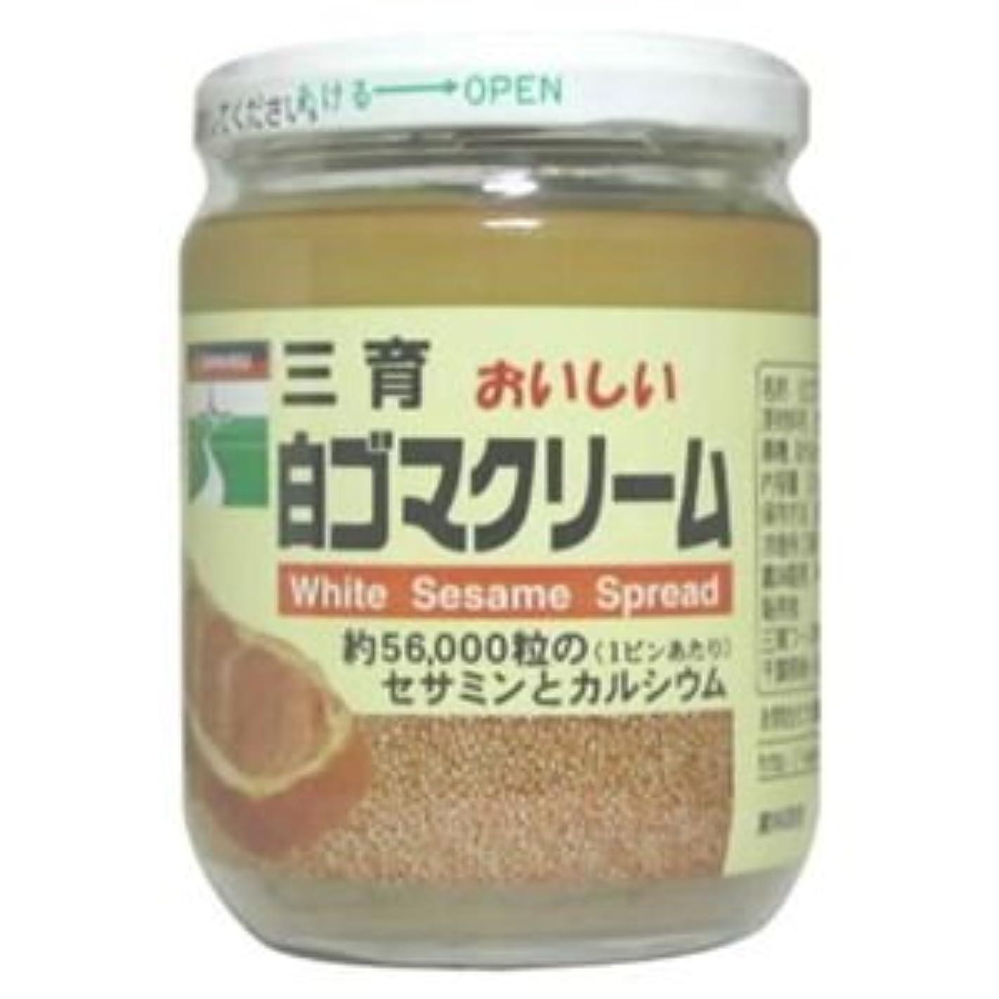 タンパク質ながら外部三育 おいしい白ゴマクリーム 210g
