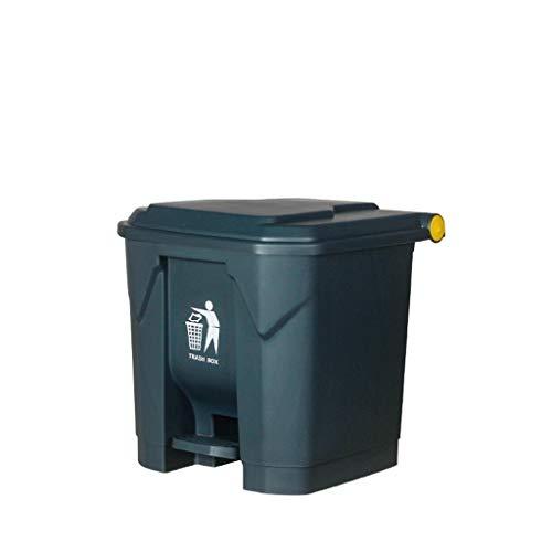 AOYANQI-Poubelles En plein air, recyclage Bins Dustbin Cuisine Maison Corbeille à papier Unité de stockage Bin Poubelle avec couvercle assainissement de boîte à ordures intérieure/extérieur