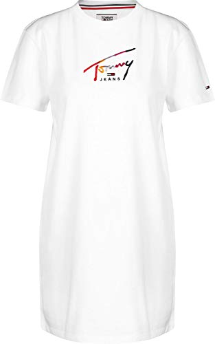 Tommy Jeans Graphic W Robe Classic White