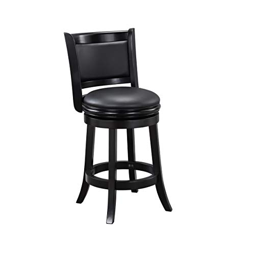 Boraam Augusta Counter Height Swivel Stool