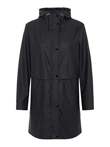 Vero Moda Cazadora Mujer Negro 10206601 VMFRIDAY 3/4 Coated Jacket Black