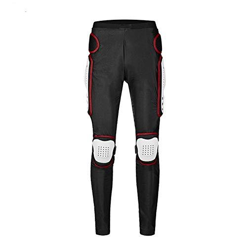 LAIABOR Hombre Motocicleta Pantalones Moto Proteccion Extremo de Cadera Motocross Racing Motorcycle Body Armor Protección Gears