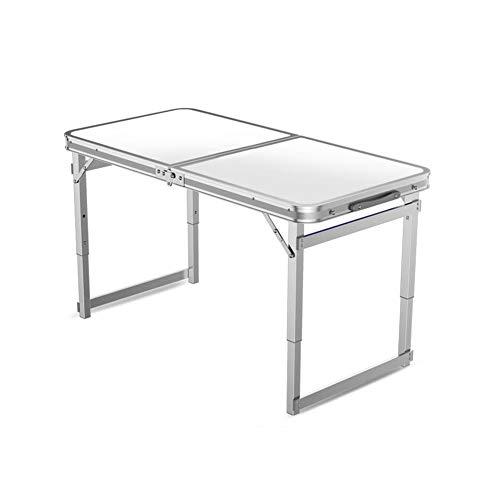 Tables CJC Selles Pliant Camping Ultra-léger Aluminium Portable Un Barbecue Pique-Nique Camping Cuisine Travail Devoirs (Couleur : T2)