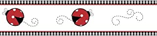 Sweet Jojo Designs Red and White Polka Dot Little Ladybug Baby and Children's Wall Border