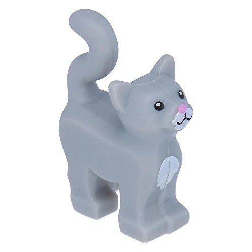 LEGO® Katze stehend neue Ausführung mit weißer Brust