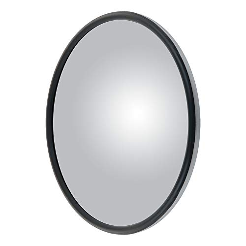 RETRAC 610901 8-1/2-Inch Stainless Steel Center-Mount Convex Mirror Head with J-Bracket, Universal Driver or Passenger Side Maryland