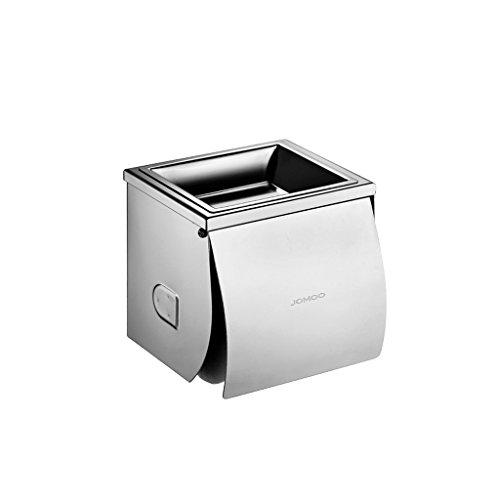BOBE Shop- Toilettes Papier Toilette Boîtes Rouleau Holder Salle de Bains Porte-Serviettes d'eau en Acier Inoxydable avec Cendriers