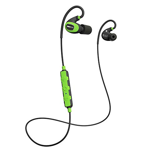 ISOtunes PRO 2.0 Industrial Earbuds: Bluetooth 5.0 Earplug Headphones. Dust, Sweat & Water Proof, 27dB Noise Reduction Rating, 16 Hour Battery, 79dB Volume Limit, OSHA Compliant Hearing Protection