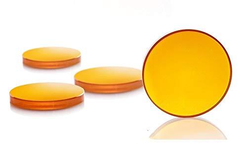 NLLeZ China ZnSe CO2 Fokuslinse Dia.18-20 mm FL 50,8 63,5 101,6 mm 1,5-4 (Farbe : 19.05mm, Größe : 63.5mm)