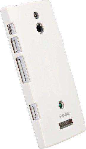 Krusell ColorCover Bianco, per Sony Xperia P, 89706, per Sony Xperia P liquidazione