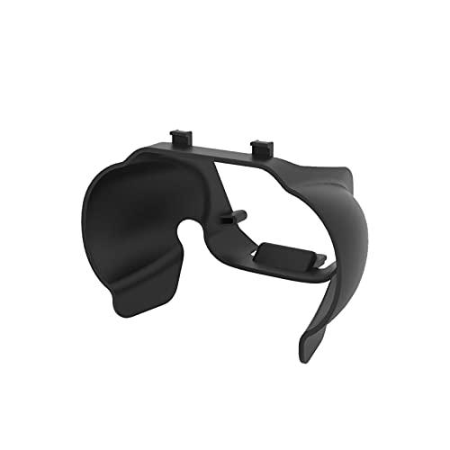 QOTSTEOS - Paraluce per obiettivo con paraluce per fotocamera Drone accessori cardanici per DJI Mavic Air 2S (nero)