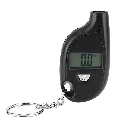 Broco 5-150PSI Mini LCD digital de neumáticos de aire del neumático calibrador de presión Tester con Llavero