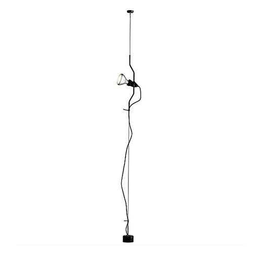 Flos Parentesi Lampada, E27, 150 watts, Nero, alluminio