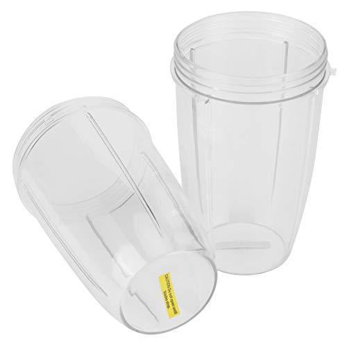 Taza de licuadora de alimentos duradera, taza de licuadora resistente y exquisita, reemplazo de taza de exprimidor, material ABS 900W