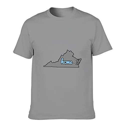 YCNJJB Camiseta de algodón para hombre con diseño transpirable y de Estados Unidos