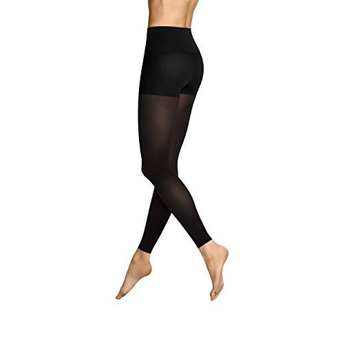 ITEM m6 - SOFT TOUCH LEGGINGS Damen | schwarz | S | L2 | Push-up Leggings im 50 DEN Look