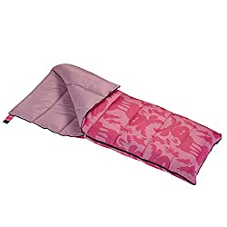 WENZEL MOOSE SLEEPING BAG redish color