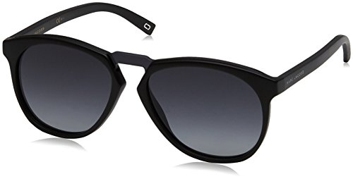 Marc Jacobs Marc 108/S 9O D28 99 Gafas de Sol, Negro (Shiny Black/Dark Grey SF), Unisex-Adulto