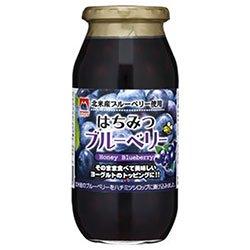加藤美蜂園 はちみつブルーベリー 650g瓶×6本入×(2ケース)