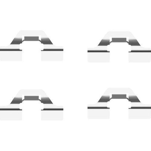 Zimmermann Pastiglie MERCEDES c219 w211 s211 w220 c216 r230 r199 POSTERIORE