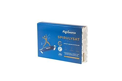 AlgoSource Extrait Liquide de Spiruline, Bleu, 1 Unité