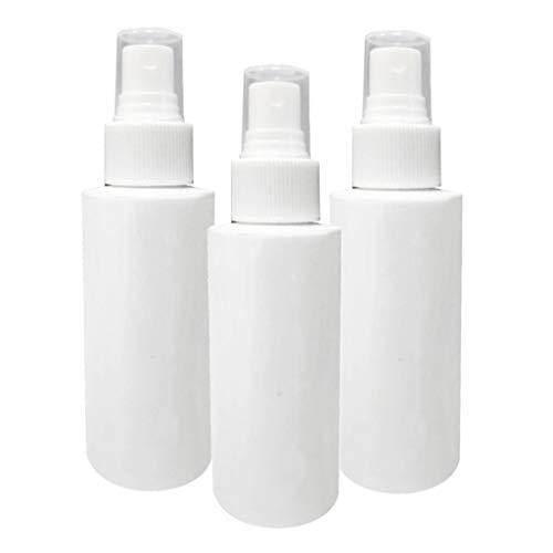 HomeDecTime 3pcs Flacon Pulvérisateur de Pompe Bouteille de Produits de Toilette Liquide 100ml