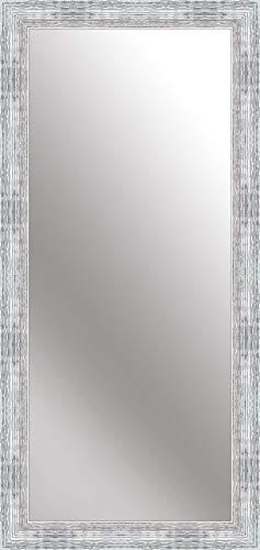 Nielsen Home Wandspiegel Chiara, Silber Weiß, ca. 70x170 cm