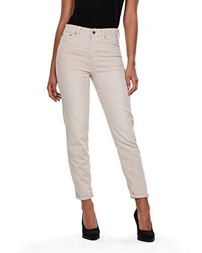 G-STAR RAW Damen 3301 High 90's Ankle Straight Jeans, Mehrfarbig (EarthColors Antler C050-B646), W25/L30 (Herstellergröße:25W / 30L)