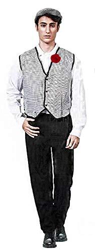 Gojoy Shop - Disfraz de chulapo madrileño para hombre, contiene: camiseta, chaleco,...