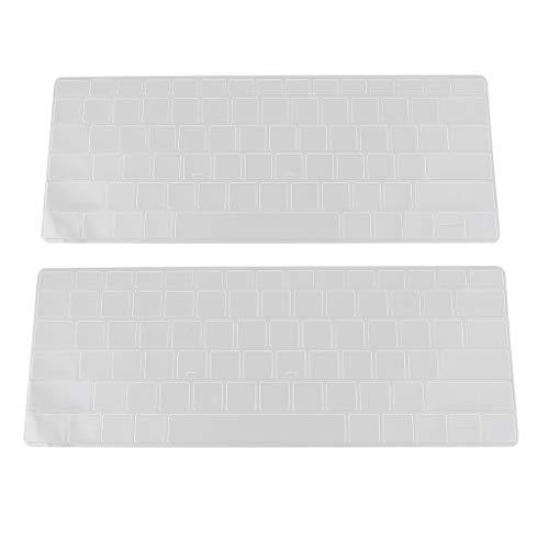 figatia Capa de Teclado TPU de 2 Partes para Microsoft Surface Book 2