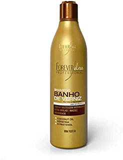 Shampoo Banho de Verniz, FOREVER LISS, 500ml