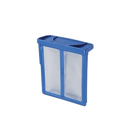 Filtro de pelusas 00619697 68x77x27 mm azul compatible con secadora Bosch Siemens