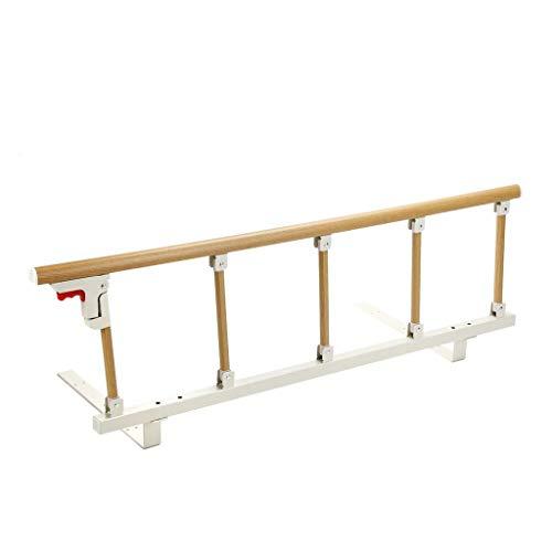 Bettgitter Bettschutzgitter Senior Bed Guardrail für Heimkrankenhaus, Klappbett-Schiene-Sicherheits-Assist-Griff, Single Double King Queen Size, 120 × 40 (Color : C)