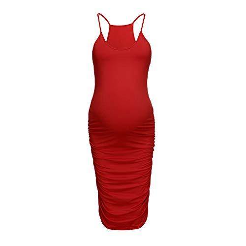 potente para casa Vestidos premamá de manga corta para dormir de mujer para madres …
