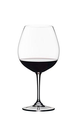 Riedel Vivant Pinot Noir Weinglas, transparent, 4 Stück