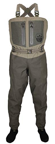Paramount Outdoors EAG Elite 4 Breathable Stockingfoot Chest Fishing Wader