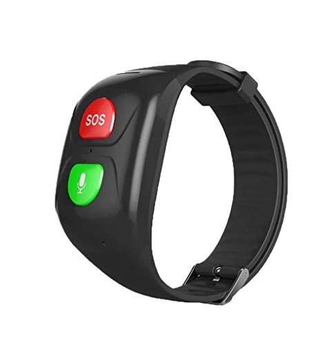 cuidado parental a prueba de agua sos grande cuidado de anciano reloj GPS pulseras gps brazalete monitor de salud de cuidado de ancianos marcador llamada de emergencia