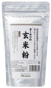 オーサワの玄米粉 300g×2個                            JANコード:4932828003351