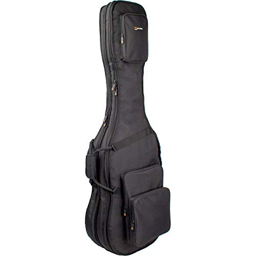 Pro Tec CF233DBL Double Bass Guitar Gig Bag - Gold Series