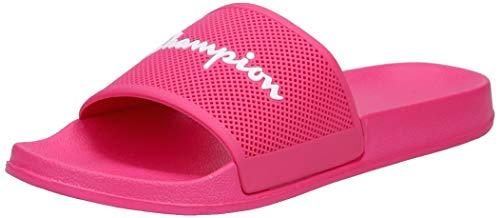 Champion Badelatschen Daytona S10641-S19-PS010 FUR Pink, Schuhgröße:38