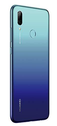 Huawei P smart 2019 BUNDLE (Dual-Sim Smartphone, 15,77 cm (6,21 Zoll), 64GB interner Speicher, 3GB RAM, Android 9.0) Aurora Blue + gratis 16 GB Speicherkarte [Exklusiv bei Amazon] - 6