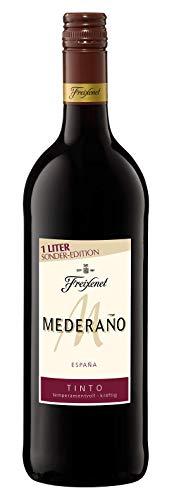 Mederaño Tinto Wein 1, Cuvée, halbtrocken, Rotwein aus Spanien, (1l)