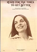 Ready for The Times to Get Better Crystal Gayle Piano, Vocal Guitar Sheet Music