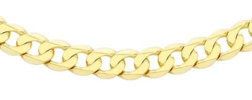 Carissima Gold Collar de oro amarillo de 9K, sin gema, 46 cm