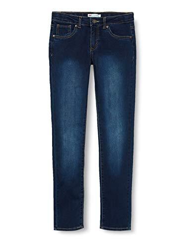 Levi's Kids Mädchen Jeans Lvg 711 Skinny Jean Indigo Ridge 3 Jahre