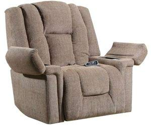 Lane Boss (Extra Large) Big Man Power Lift Recliner in Sophia Cappuccino with Duo Motors. (Control Back and Foot Rest Separately). Free curbside Delivery.
