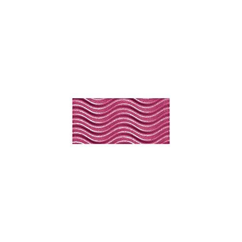 Rayher 8109733 Schultüte, aus Pappe zum Basteln und Selbstgestalten, Rohling für Zuckertüte ohne Verschluss, eckig, pink, 68 cm