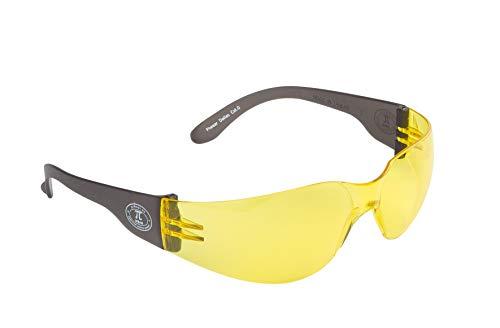 PiWear Dallas YT rahmenlose gelb getönte Sportbrille Sonnenbrille ultraleicht