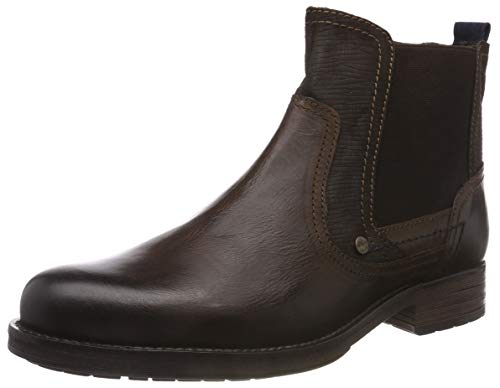 s.Oliver 5-5-15400-21, Bottes Chelsea Homme, Marron (Dark Brown 302), 9 UK