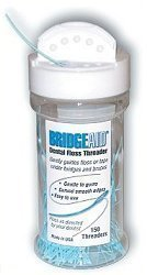 BridgeAid Dental Floss Threader Bottle 150, 3 Pack